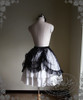 Back View (Starlight Gauze Ver. with ribbon tied up) (skirt underneath: V00002N)