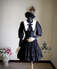 Co-ordinates Show (Black Ver.) jacket TP00092N, pannier bloomers UN00024, beret P00406