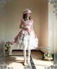 Model View (Pink Ver.) hat P00574, skirt V00002N, choker and ring set NOT for sale