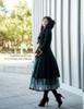 Model Show blouse TP00051N, skirt SP00170