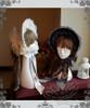 Rococo Lolita Retro Lace Tri-layer Trimmings Stiff Half-head Bonnet*4colors