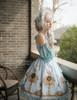 Model Show (Light Blue Ver.) dress DR00190, gloves P00592, tote P00613