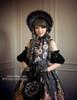 Model Show (Black Ver.) dress DR00190, gloves P00581, tote P00583