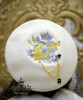 The Queen's Throne, Alice Lolita Large Embroidery Wool Beret & Brooch*5colors
