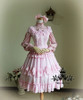 Co-ordinate Show (Antique Pink Ver.) dress DR00130, hairdress P00501