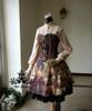 Co-ordinates Show (Deep Brown Ver.) blouse TP00145, skirt SP00167, pannier UN00024)