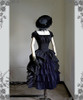Co-ordinates Show (hat: P00574, choker: AD00610, dress: DR00174, skirt: SP00166, birdcage petticoat: UN00019L)