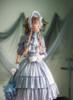 Model Show (Light Grey Light Mist Velvet Ver.) Bonnet P00641, Blouse TP00137N