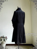 Whale Bones Bay, Pirate Gothic Steampunk Victorian Fine Velvet Captain Cocktail Long Coat*2colors Man M Instant Shipping
