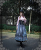 Model Show (hat: P00604, blouse: TP00145N, skirt underneath: SP00166, petticoat: CT00040S)