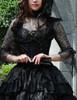 Model Show (Black Ver.) (corset: Y00025N, fan: P00580)