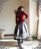 Model Show (Burgundy Ver.) (blouse: TP00145N, skirt: SP00170, underskirt: SP00166, petticoat: CT00040S)