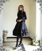 Model Show (Black Ver.) (dress: DR00115N, petticoat: UN00022, leggings: P00182)