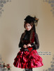 Model Show (Black Ver.) hat P00533N, skirt SP00138, vest CT00153N