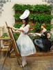 Model Show (hat: P00609, birdcage petticoat: UN00019)