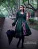 Model Show (Dark green Ver.) dress DR00194, petticoat UN00027