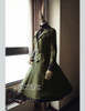 Co-ordinates Show (Dark Green Ver.) (jacket: CT00262, blouse: TP00147, birdcage petticoat: UN00019N)