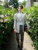 Model View jacket CT00258, pants SP00178, hat P00619, jabot P00516N