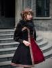 Model Show (Burgundy Version) blouse TP00150 dress DR00186