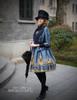 Model Show (Dark blue Ver.) (hat & sash set: P00614, blouse TP00150, dress: DR00189)