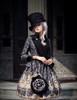 Model Show (Black + Grey Ver.) (hat & sash set: P00614, jacket: CT00268, blouse: TP00125N, tote: P00583)