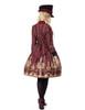 Model Show (Redish black+Burgundy Version) blouse TP00125N hat P00614 jacket  CT00268