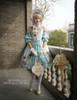Model Show (Light Blue Ver.) (bonnet: P00577, tote: P00613, gloves: P00592, leggings: P00187)