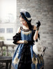 Model Show (Dark Blue Ver.) (hat: P00574, tote: P00581, gloves: P00581)