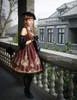 Model Show (Burgundy Ver.) (hat: P00574, tote: P00583, gloves: P00581, leggings: P00182)