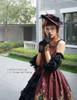 Model Show (Burgundy Ver.) (hat: P00574, gloves: P00581)