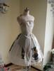 Front View (White + Light Grey Ver.) (birdcage petticoat: UN00019)