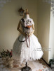 Co-ordinate Show (crown & veil: P00623, skirt & bustle belt: SP00176, bouquet: P00620)