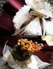 white lace ruffle collar: P00545