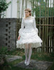 Model Show (White Ver.) blouse TP00153, skirt SP00180