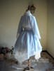 Back View (Bluish Snow Refined Grove Prints ) gown: CT00261