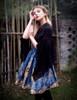 Model Show  (Black + Brown Ver.) blouse TP00152 skirt SP00159