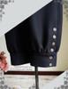 Steampunk Riding Breeches High Waisted Shorts Black Men Shorts