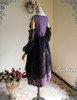 Back View (Pale Purple + Black Chiffon Ver.)