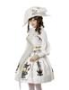 Model View (White Version) dress DR00191 blouse TP00150