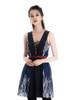 Model Show (Black + Dark Blue Ver.) (leggings: P00182)