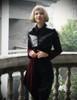 Vintage Velvet Women's Jackets Military Navy Unisex Coats *Burgundy Dark Green