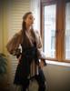 Model Show (Black + Grey Version) dress DR00204