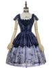 Front View (Purple + Dark Blue Ver.) (petticoat: UN00019, UN00026)