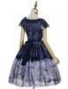 Back View (Purple + Dark Blue Ver.) (petticoat: UN00019, UN00026)