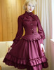 Bustle Bloomers Steampunk Shorts Gothic Vintage Fashion Midi Skirt