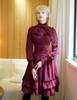 Model Show (Burgundy Version) blouse TP00145