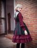 Model Show (Burgundy Version) blouse TP00145, jacket CT00278