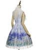 Side View w/o Capelet & Skirt Piece (Hyacinth Blue + White Ver.) (petticoat: UN00026, UN00027)