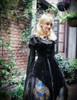 Model Show (Black Ver.) (vest overdress: CT00293, petticoat: UN00026, necklace from dress DR00229) crown NOT for sale