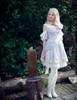 Model Show (Light Grey Ver.) (headdress: P00636, blouse: TP00168, petticoat: UN00026)
